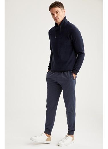 DeFacto Slim Fit Jogger Eşofman Altı Mavi